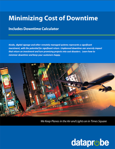Dataprobe Cost of Downtime eBook